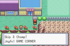 Game Corner размещенный на втором острове