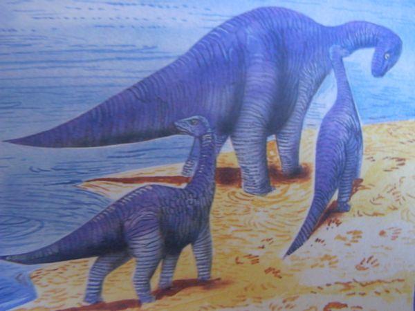 Царь птиц.  Apatosaur.  Жизнь апатозавра (добавил(а) khokhlova lena).